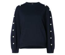 pearl accented sweatshirt