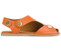- Sandalen mit Cut-Out - women - Kunstleder - 37