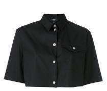 Cropped-Hemd mit kurzen Ärmeln - women