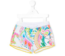 - Shorts mit abstraktem Print - kids