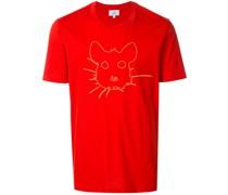 T-Shirt mit Rattengesicht