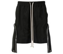 Shorts mit Reißverschlusstaschen