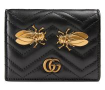 'GG Marmont' Kartenetui mit Nieten