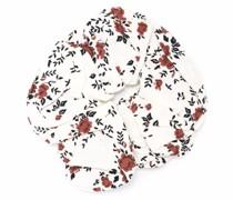 Haargummi mit Blumen-Print