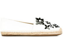 Espadrilles mit floraler Applikation - women