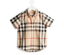 Kariertes Button-down-Hemd