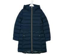 Teen long padded coat