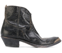 'Young' Stiefel in Distressed-Optik