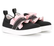 Slip-On-Sneakers mit Rüschendetails - kids