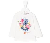 Langarmshirt mit floralem Print
