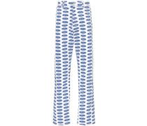 x Ford Jeans mit Logo-Print