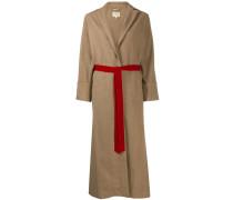 Mantel mit Bindegürtel