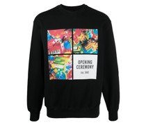 Sweatshirt mit Box-Print