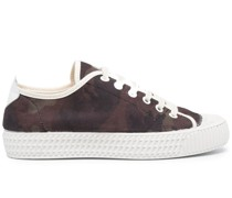 Sneakers mit Camouflage-Print