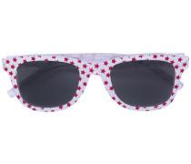 Sonnenbrille mit Stern-Print