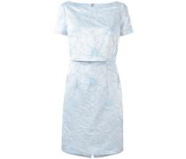 Kleid im Lagen-Look mit floraler Stickerei