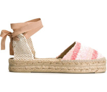 Espadrilles mit Cut-Out