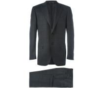Zweiteiliger Anzug mit Karomuster