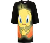 T-Shirtkleid mit Tweety-Print