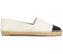 colour block flat espadrilles