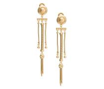 spring coil clip-on earrings