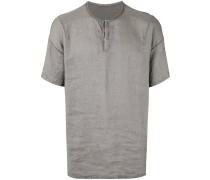 T-Shirt mit kurzer Knopfleiste - men