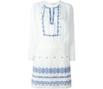 Kleid mit gehäkelten Details