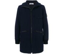Enganliegende Jacke mit Kapuze