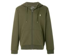 logo hoodie jacket