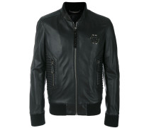 bomber biker jacket