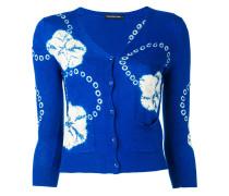 printed cardigan - women - Kaschmir/Seide - M