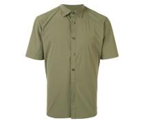 Poloshirt mit durchgehender Knopfleiste