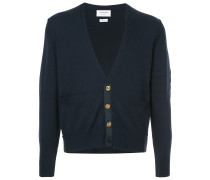 Inside Out Classic V-Neck Cardigan In Fine Merino Wool