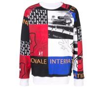 'Internationale' Collagen-Sweatshirt