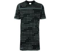 T-Shirt mit metallischem Print