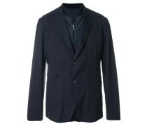 double layer padded blazer jacket