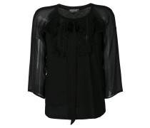 Bluse mit semi-transparenten Ärmeln - Unavailable