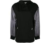 organza sleeve hoodie
