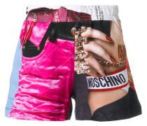 "Shorts mit ""Barbie""-Print"
