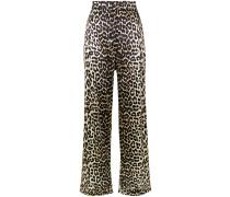 'Dufort' Hose mit Leoparden-Print