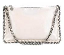 Clutch mit Zierkette - women - Polyester