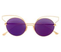 'Believer' Sonnenbrille aus 18kt vergoldetem