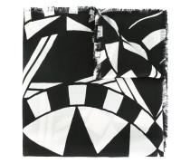 Schal mit Love-Print