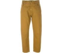 medium rise darts trousers