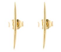 Ohrringe aus 18kt vergoldetem Sterlingsilber