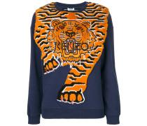 Tiger Intarsia jumper