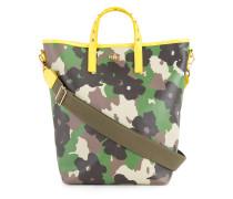 Handtasche mit floralem CamouflagePrint