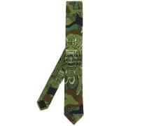 Krawatte mit Camouflage-Print - men - Baumwolle
