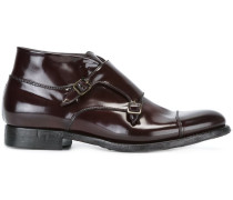 monk strap ankle boots