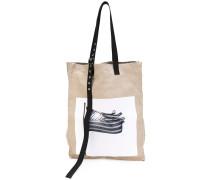 x Robert Mapplethorpe woven oversized tote bag